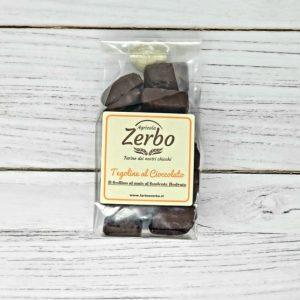 Tegoline di mais al cioccolato