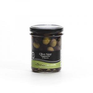 "Olive Nere ""Taggiasche"" in salamoia 120g - sommariva pestoenoci"