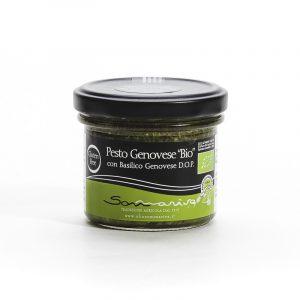 Pesto Genovese 100g Bio - sommariva pestoenoci