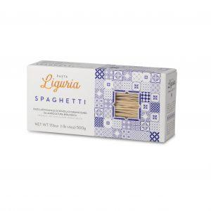 Spaghetti . Pasta di Liguria pestoenoci